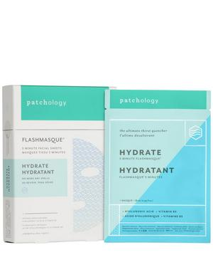 FlashMasque® Hydrate 5-Minute Sheet Masks 4 Pack