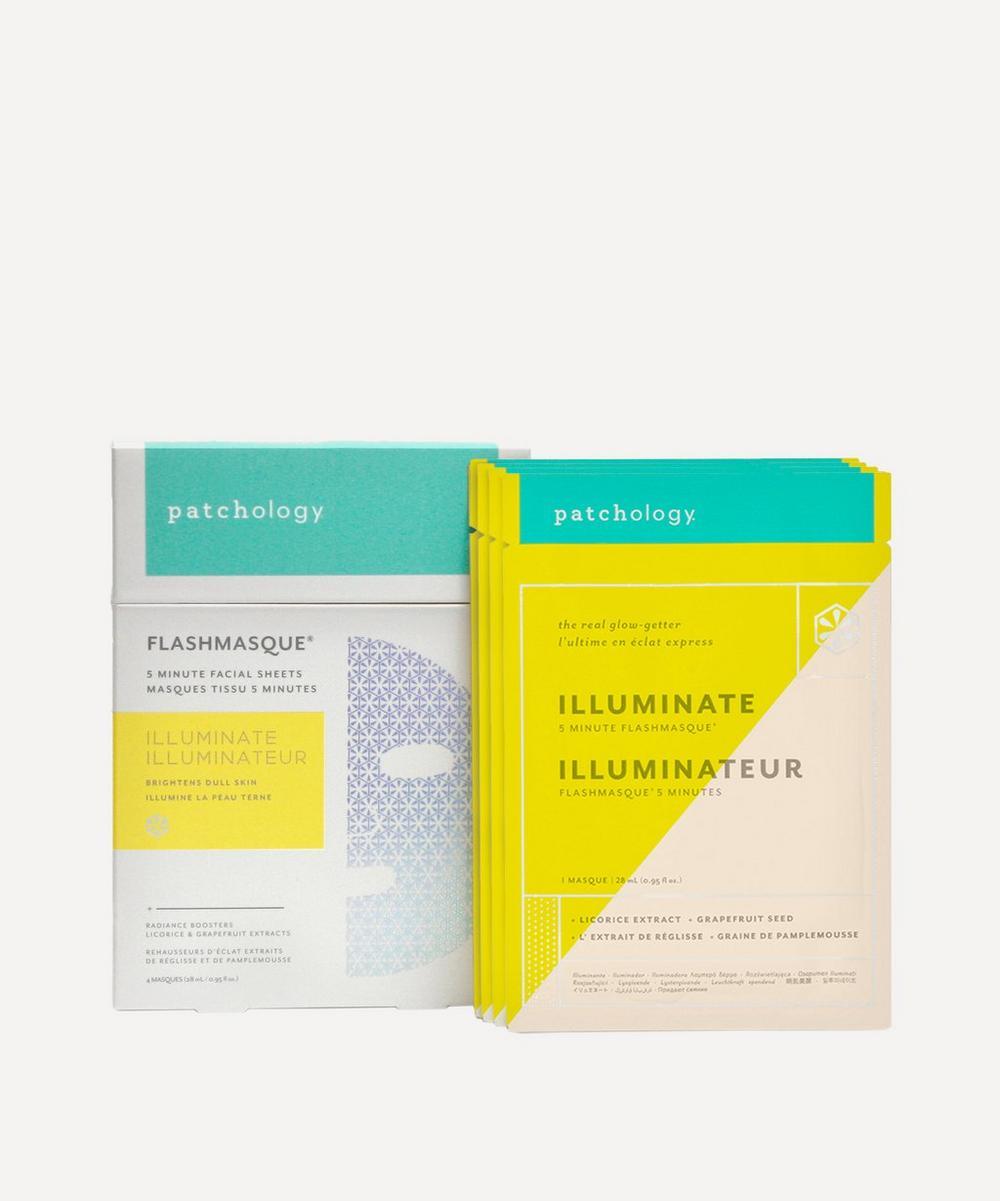 Patchology - FlashMasque® Illuminate 5-Minute Sheet Masks 4 Pack