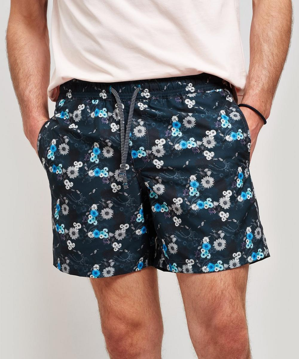 Blythe Mini Night Flower Swim Shorts