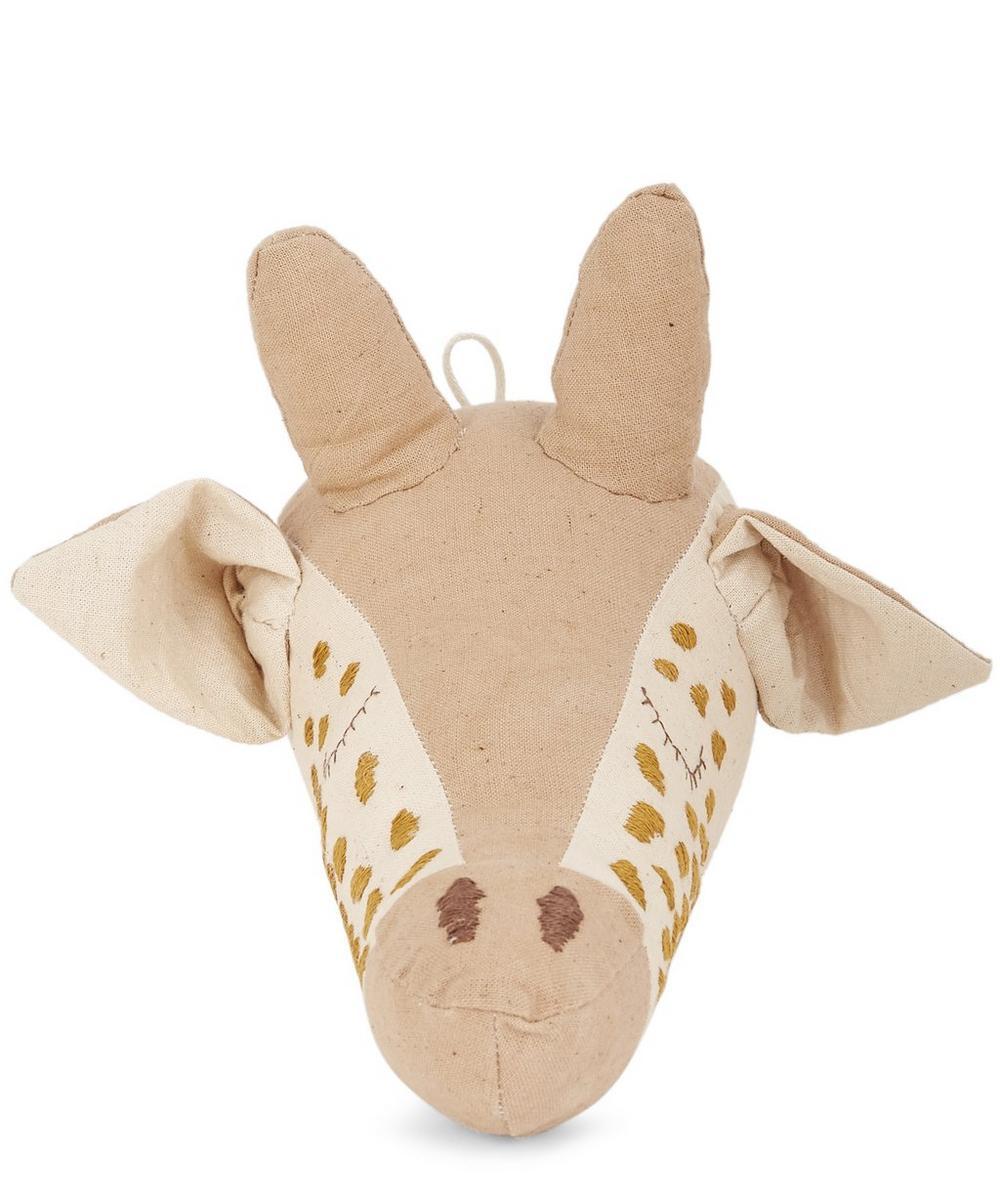 Little Giraffe Head Wall Hanging