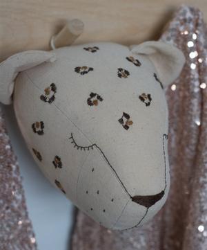 Little Leopard Head Wall Hanging