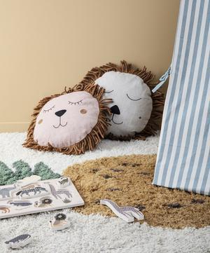 Safari Lion Cushion