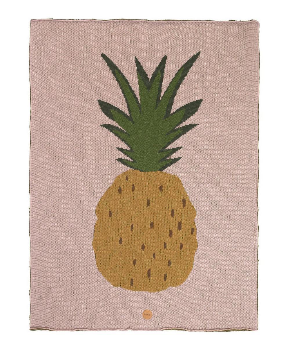 Cotton Pineapple Blanket