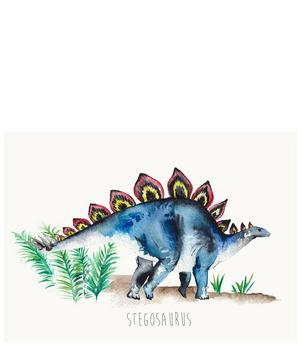 Stegosaurus A3 Print