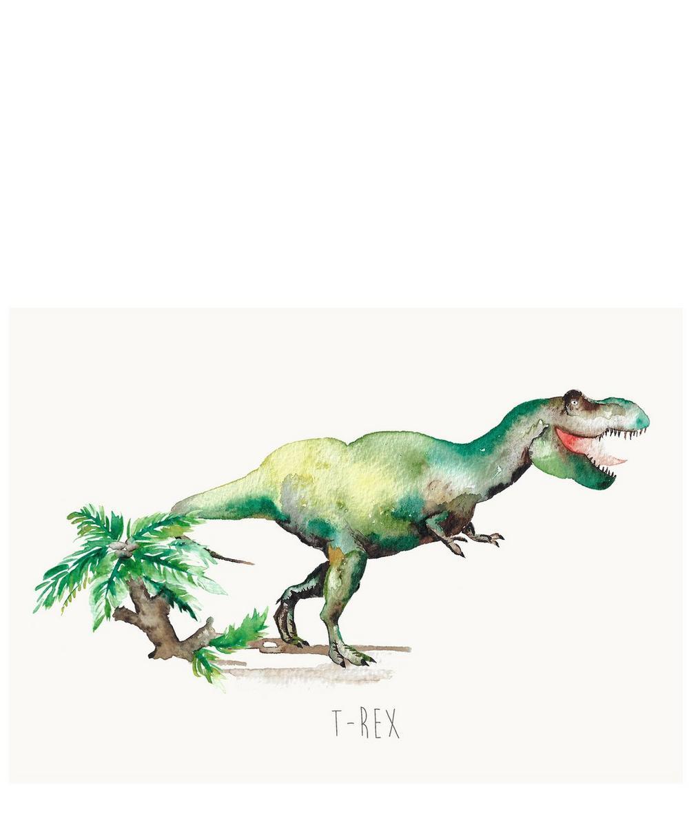 T-Rex A3 Print