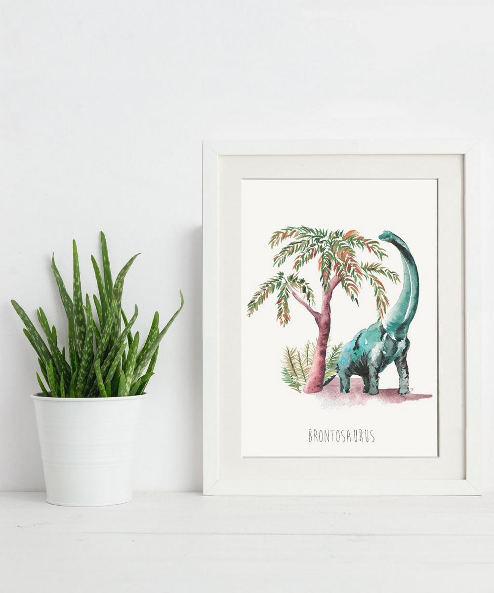 Brontosaurus A3 Print