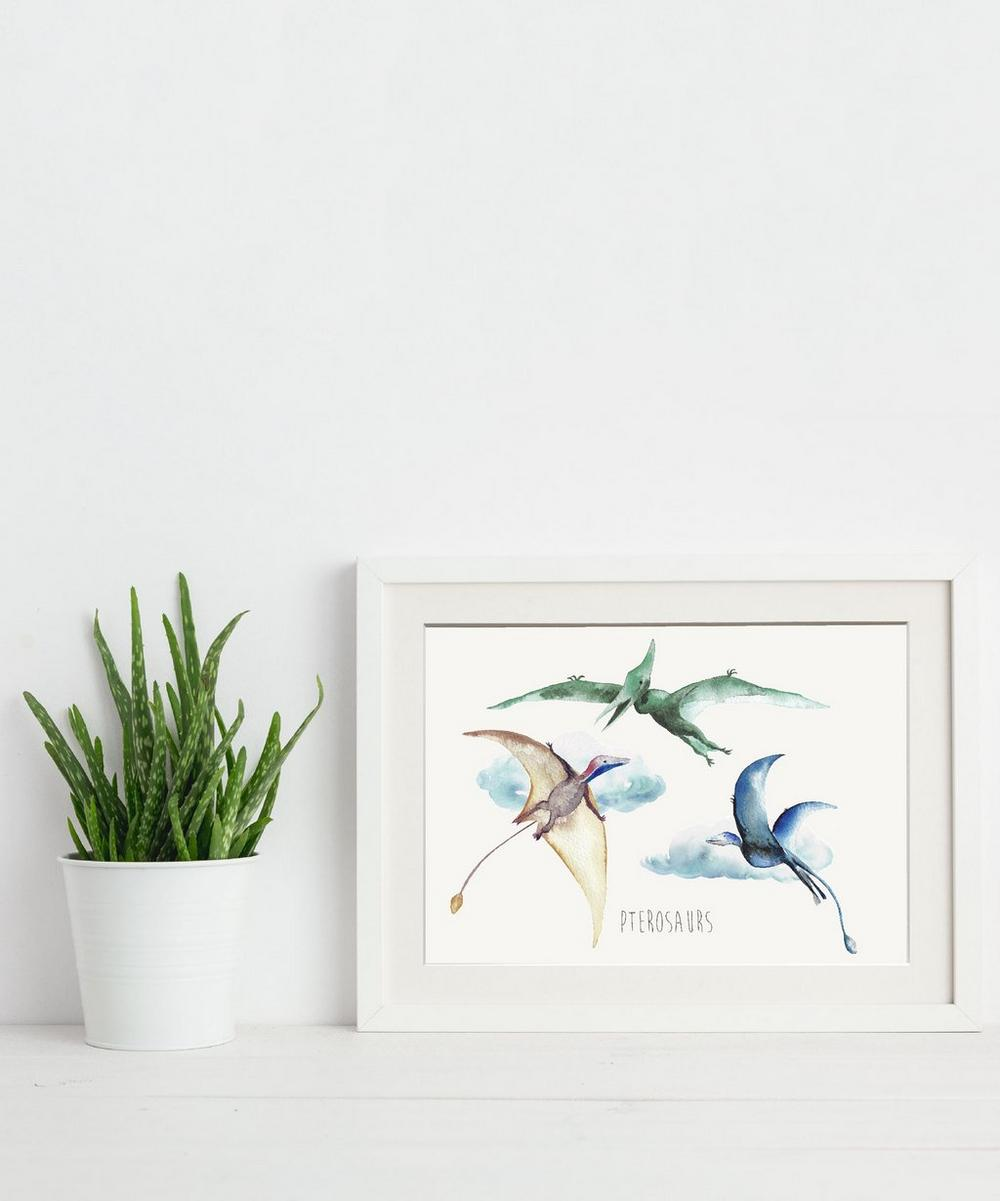 Pterosaurs A3 Print