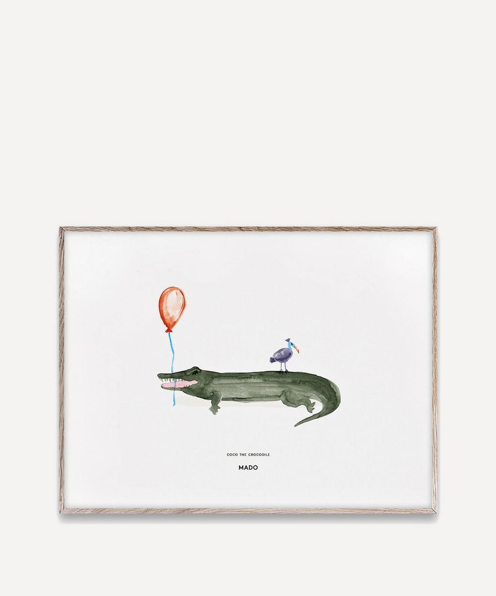 Coco the Crocodile A3 Print