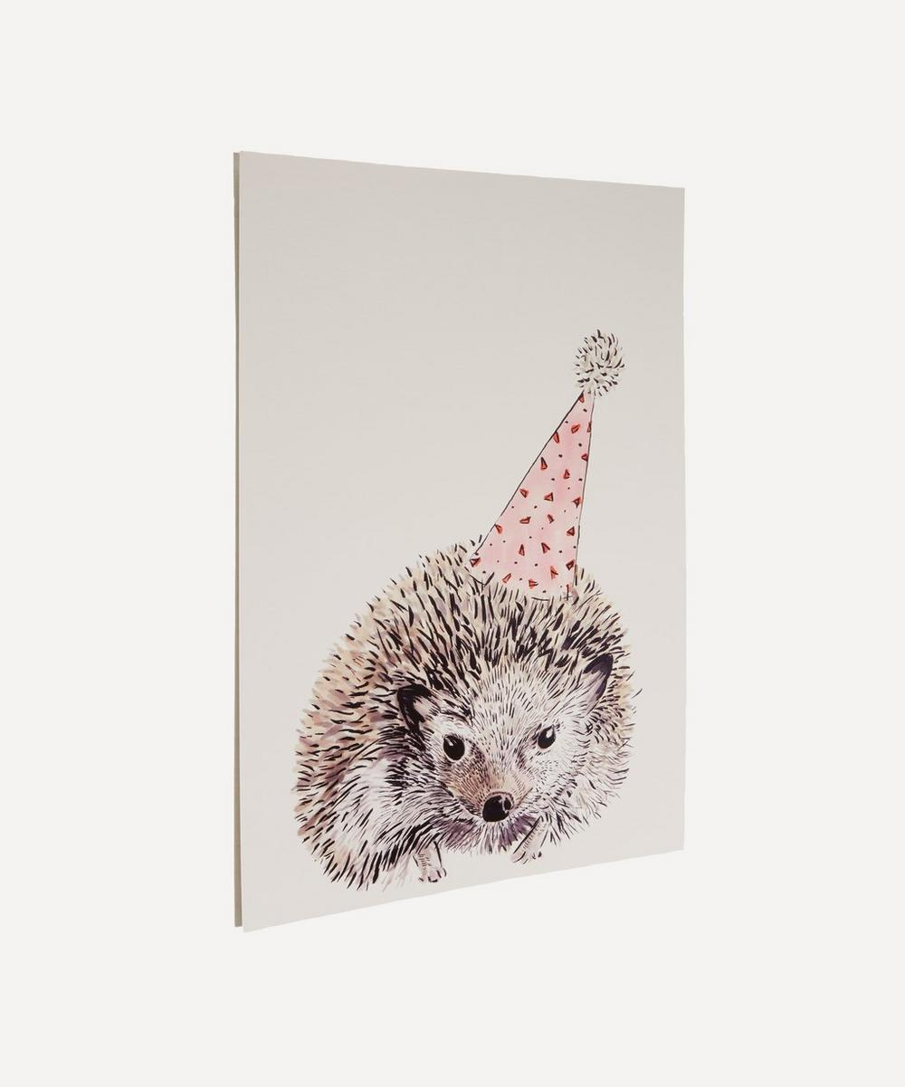 Party Hedgehog A3 Print