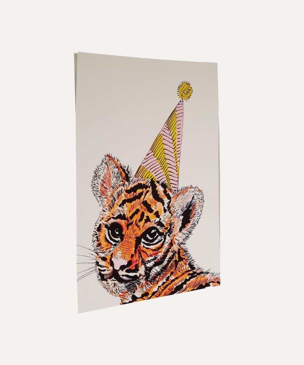Party Tiger A3 Print
