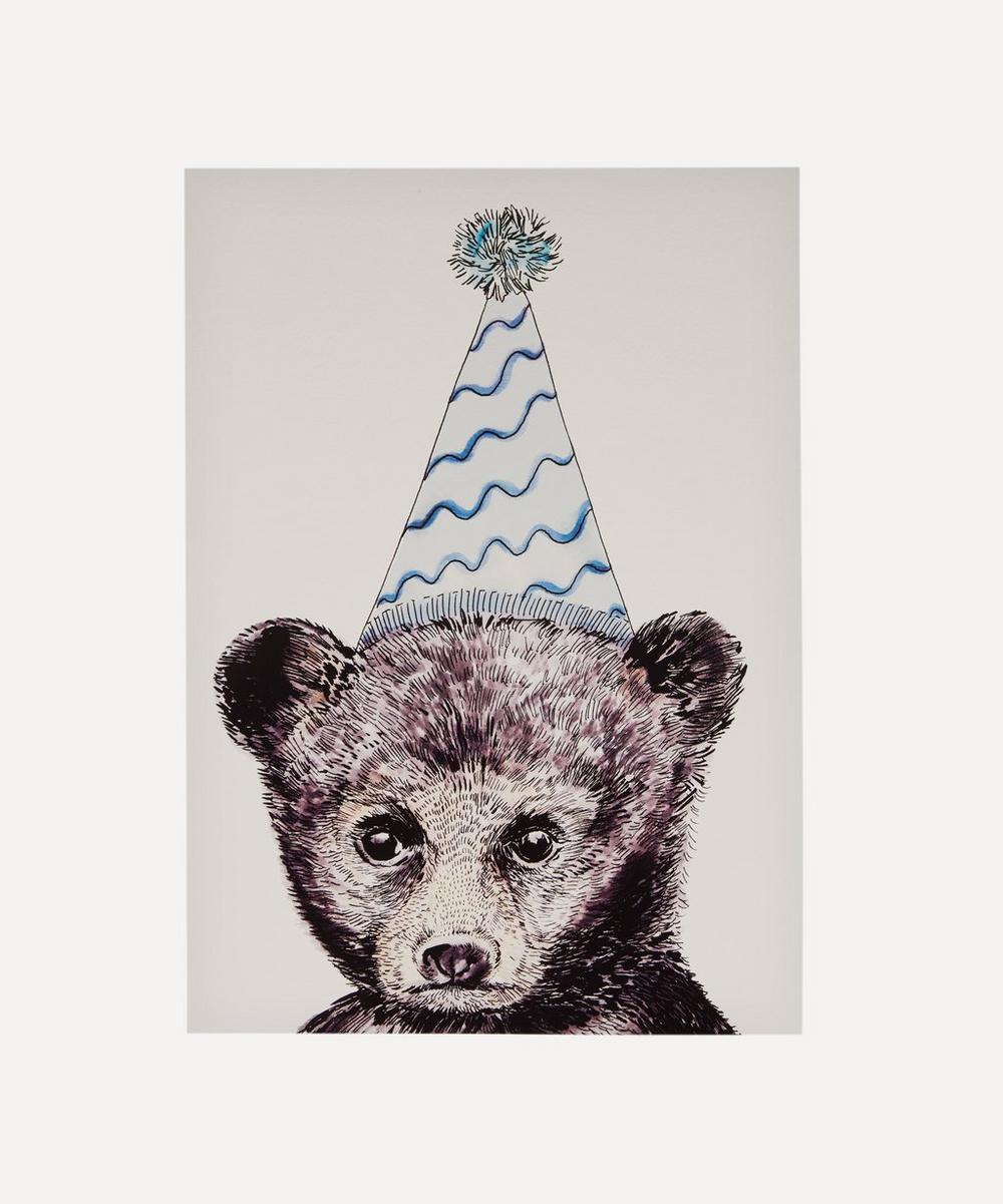 Party Bear A3 Print