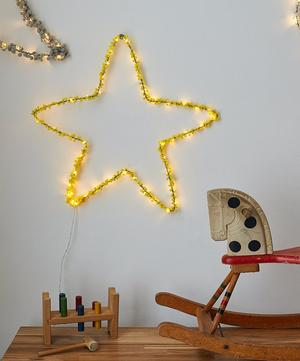 Star Pom Pom Wall Light