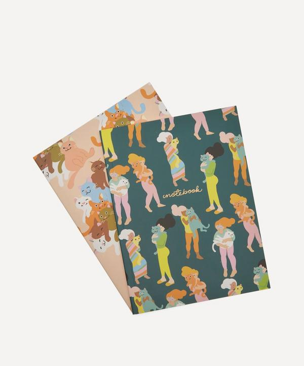 Noi - Cats Notebooks Set of Two