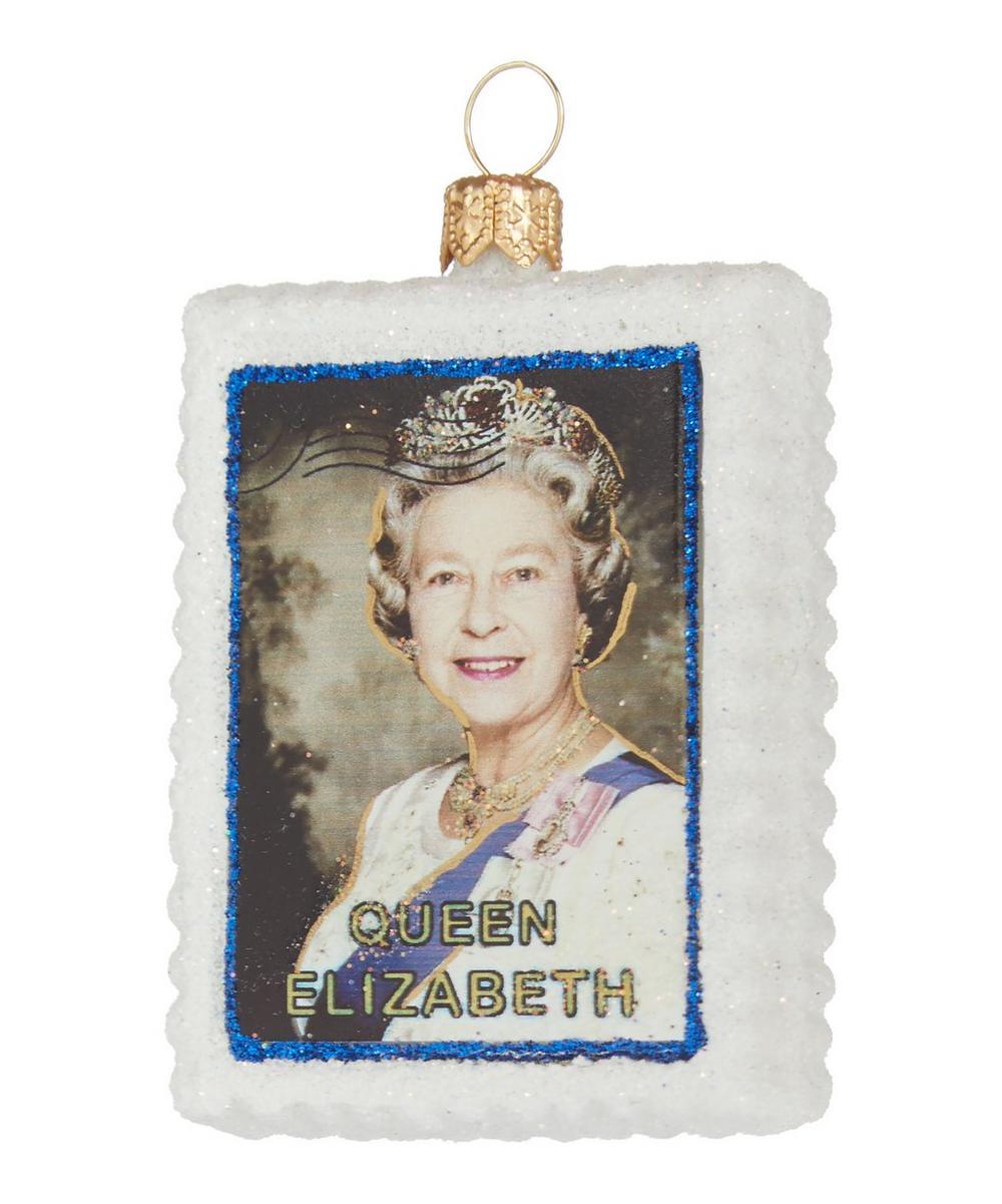 Queen Elizabeth Postage Stamp Decoration