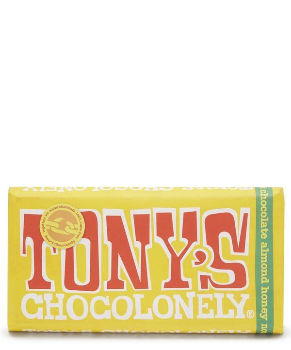 Almond, Honey and Nougat Milk Chocolate Bar 180g
