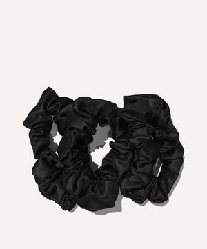 Large Silk Scrunchies Pack of 3