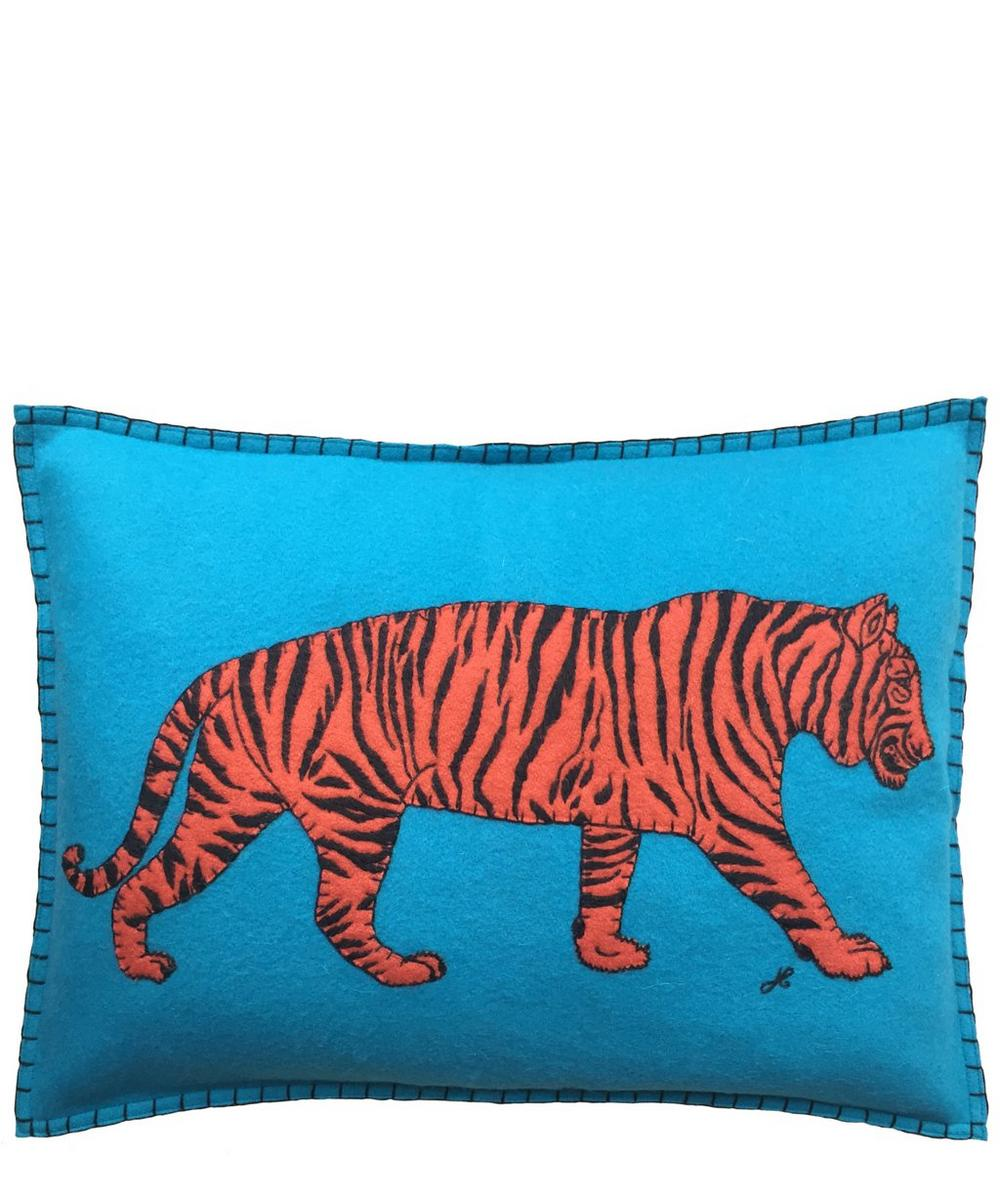 Prowling Tiger Cushion