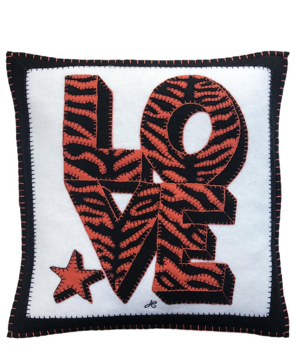 Tiger Star Love Cushion
