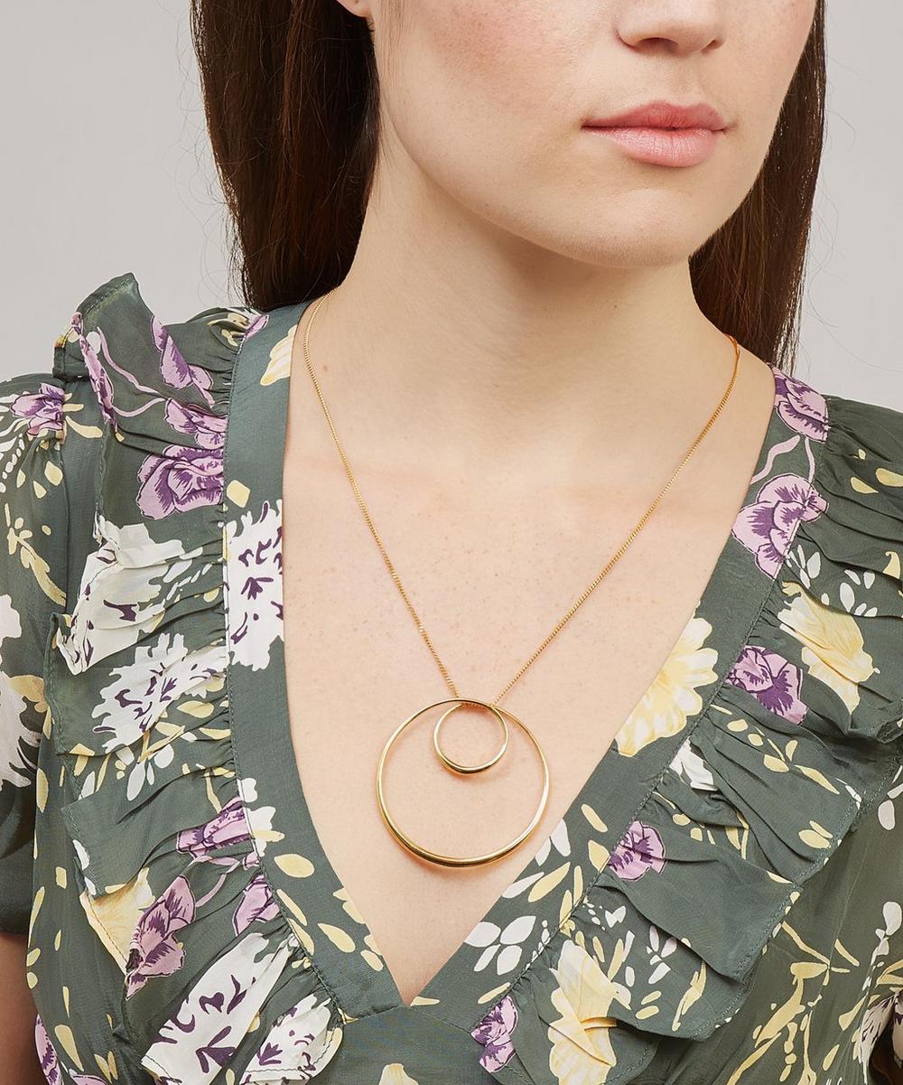 Gold Vermeil Signature Swirl Pendant Necklace