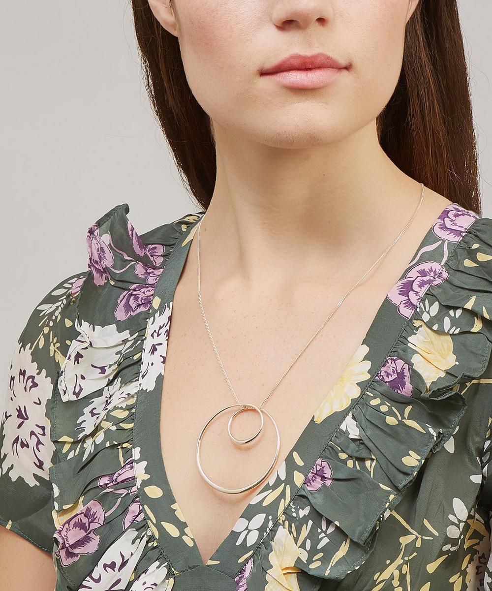 Silver Signature Swirl Pendant Necklace