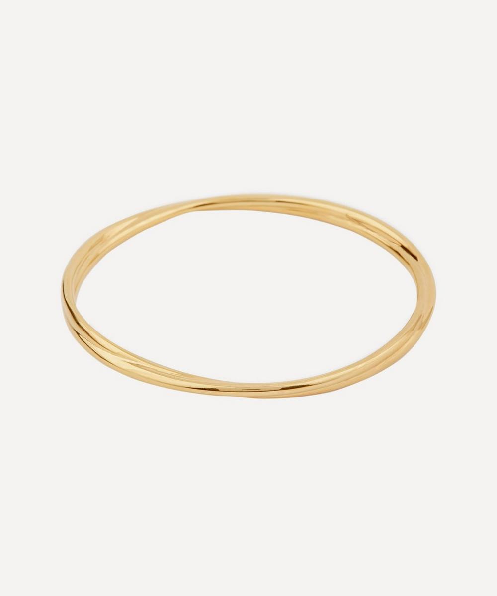 Gold Vermeil Twist Bangle