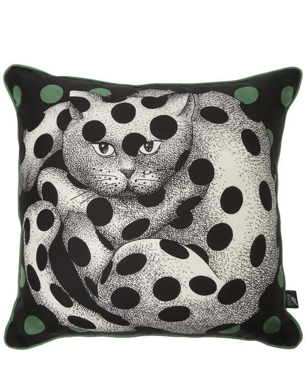 Fornasetti - High Fidelity Silk Cushion