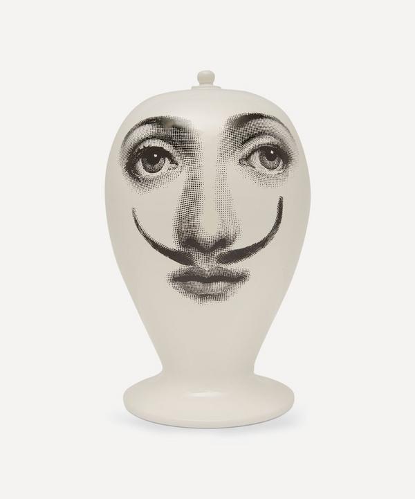 La Femme Aux Moustaches Ceramic Vase