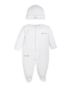 Humble Hedgehogs Footie With Hat Set 0-6 Months