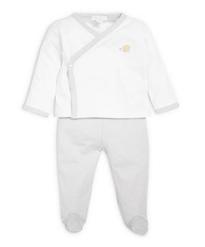 Woodland Footed Pant Set 0-6 Months