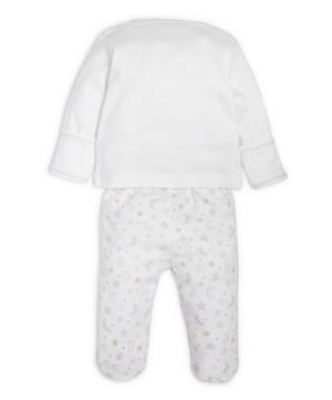 Super Stars Footed Pant Set 0-9 Months
