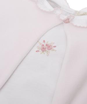 Winter Rosebuds Jacket Set 0-6 Months
