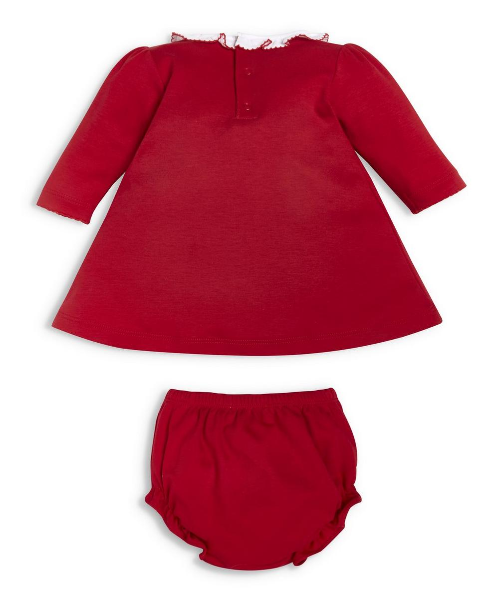 Holiday Smock Dress Set 0-18 Months