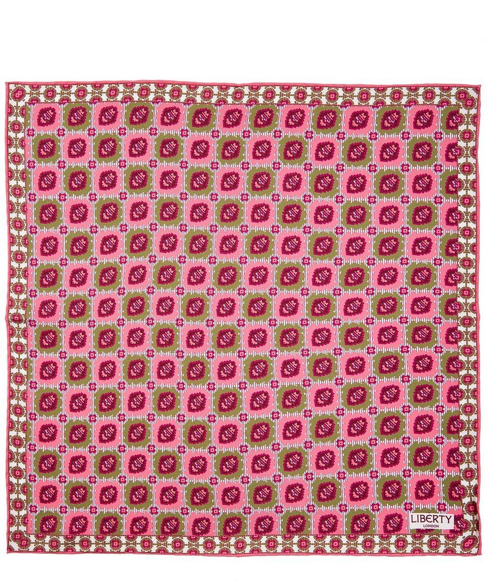 Sandbach Printed Silk Pocket Square