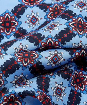 Congleton Printed Silk Pocket Square