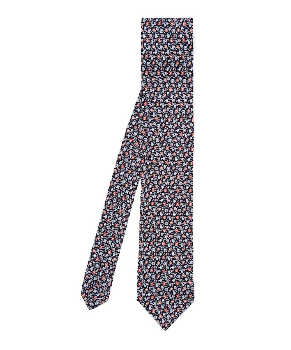 Macclesfield Printed Silk Tie