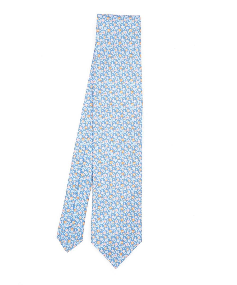 Macclesfield Printed Silk Tie