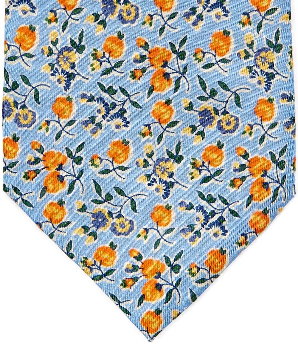Ellesmere Printed Silk Tie