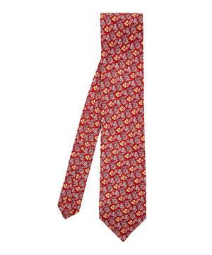 Widnes Printed Silk Tie