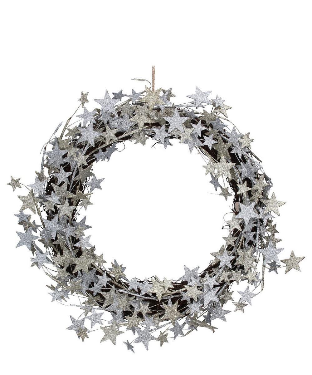 Star Twigs Wreath