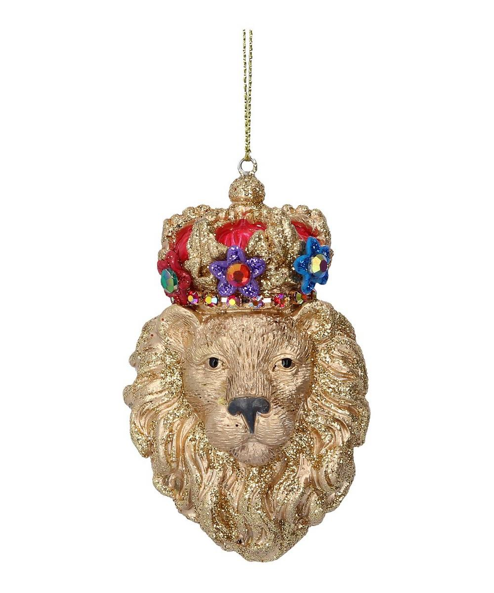 Crowned Lion Decoration