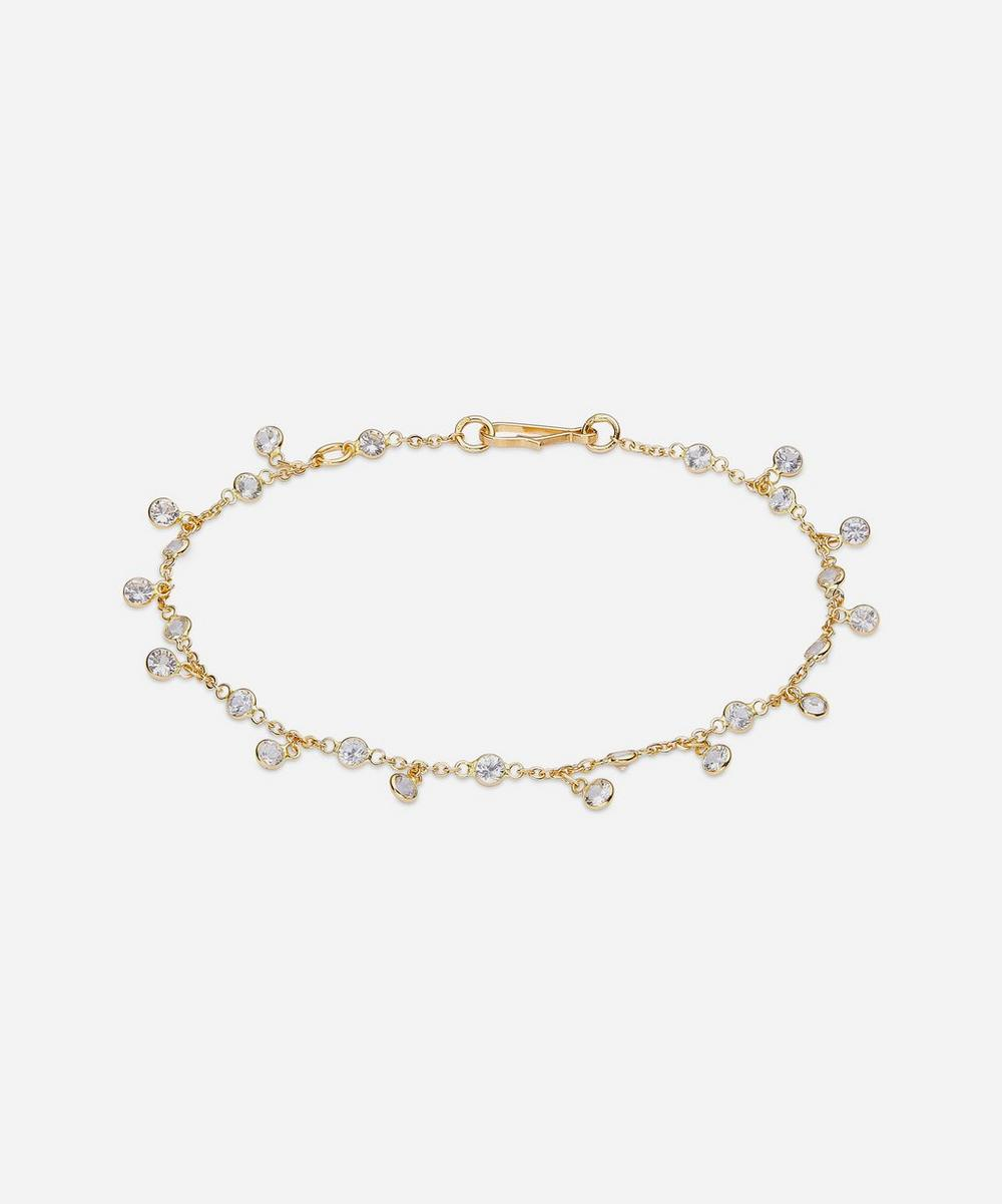Annoushka Accessories 18CT GOLD NECTAR WHITE SAPPHIRE BRACELET