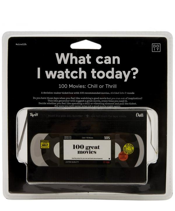 What Can I Watch Today Decision-Maker Ticket Box