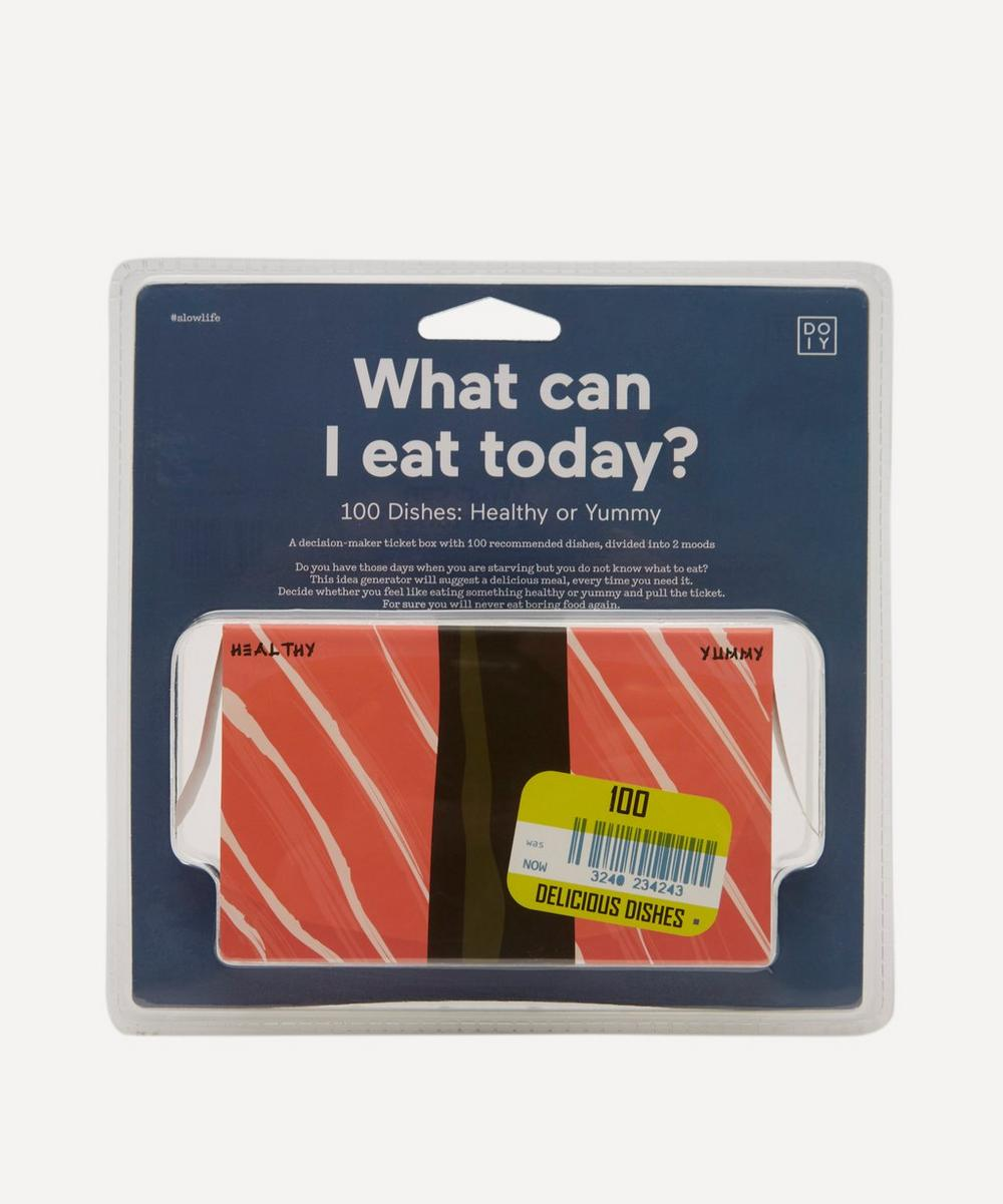 What Can I Eat Today Decision-Maker Ticket Box