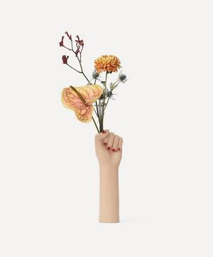 Girl Power Big Arm Vase