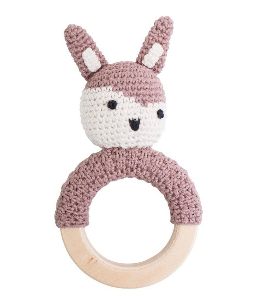 Siggy the Rabbit Crochet Rattle