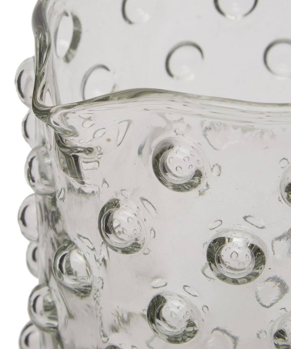 Glass Jug with Dots