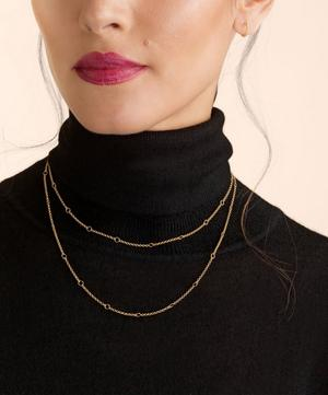 18ct Gold Hoopla Long Chain Necklace