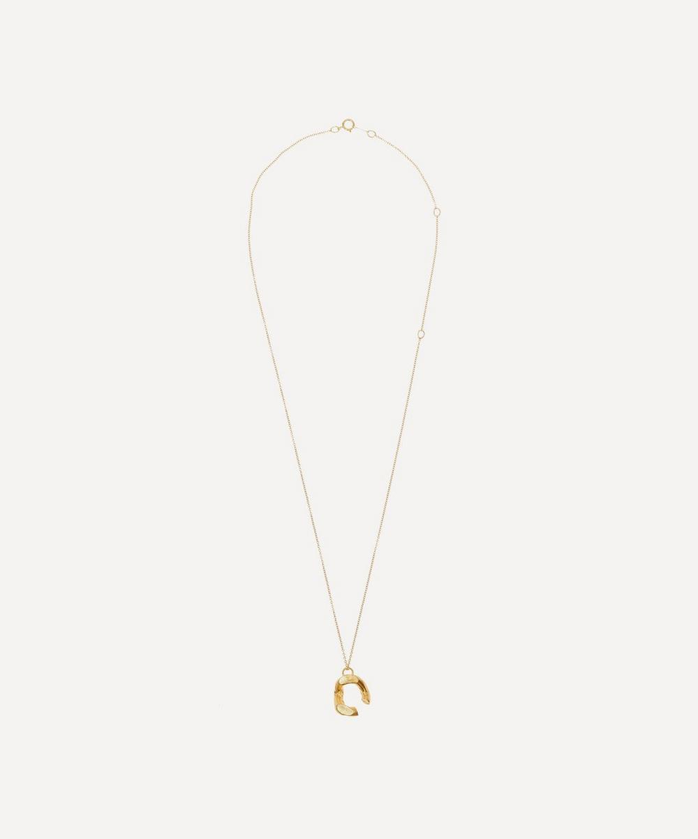 Gold-Plated The Flashback Twist Necklace