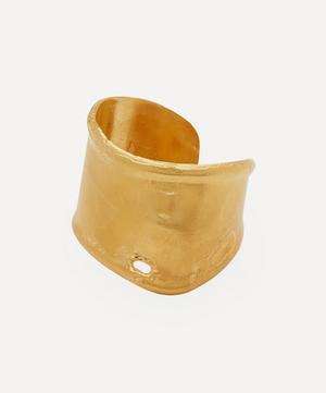 Gold-Plated The Storyteller Cuff Bracelet