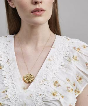 Gold-Plated The Old Time's Sake Chaper II Necklace